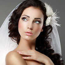 stylist for wedding hair and makeup